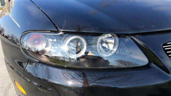 The new headlights are not factory but they are much cheaper and give out much more light. Plus they are more attractive.