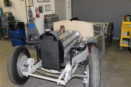 Bugatti chassis.