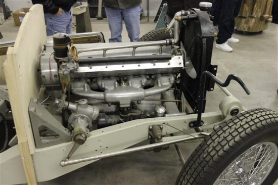 Bugatti engine.