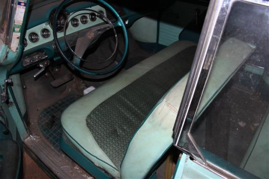 The interior is remarkable other than some wear on the cloth in the seats.