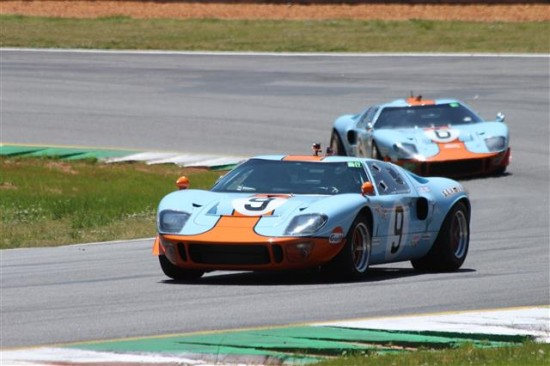The Ford GT 40 has to be one of my favorite cars of all time and there were three examples on hand. Two in my favorite Gulf colors.