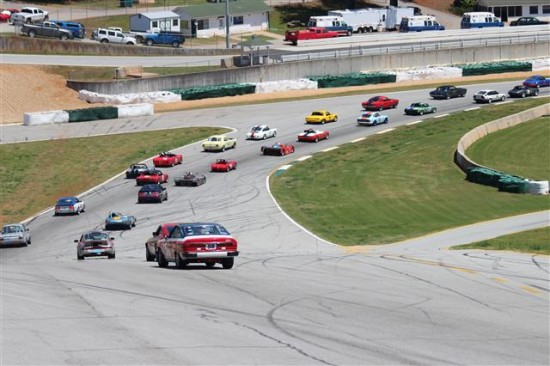 There were several races where the field contained 40+- cars!