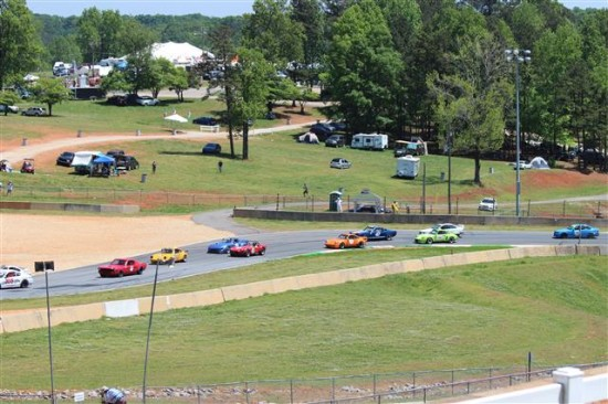 There are numerous great viewing and camping locations at Road Atlanta.