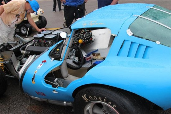 The damage was significant but hopefully it will be repaired and race again.