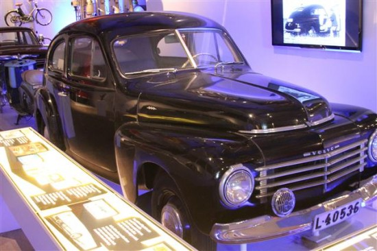 If you are old enough you have most likely seen this very 1946 Ford like Volvo on the streets in the US.