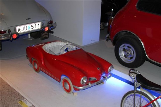 This pedal car of a Carmen Gia would be a hit over here.