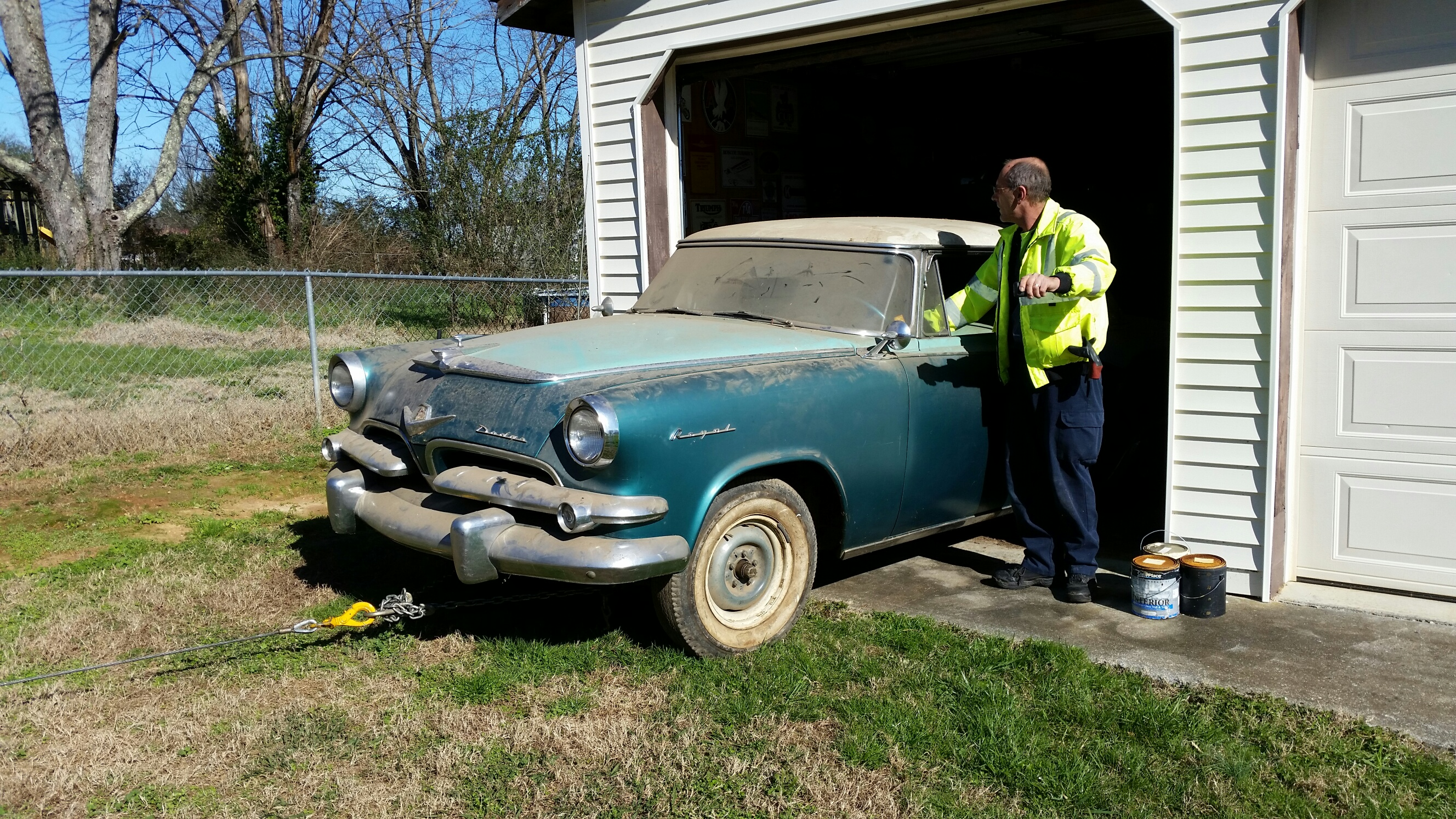 1955 dodge royal barn find for sale - The Old Dodge Emerges Into The Sunlight For The First Time In Many Years
