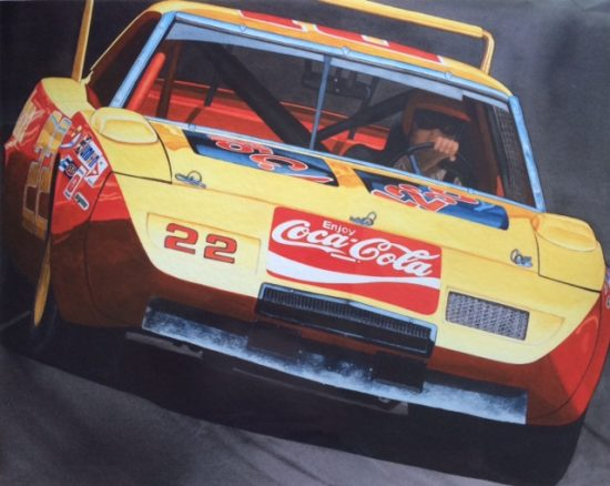 Coke Machine by Dan McCrary, Giclee Print, signed and numbered.