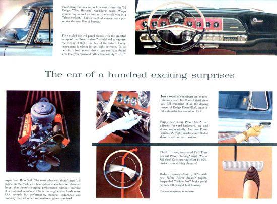 1955 Dodge brochure.