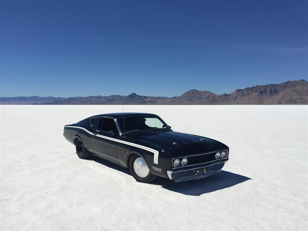 Photo of Bonneville Salt Flats 150 MPH Club in a Street Car