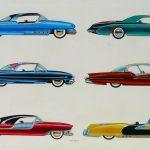 Futuristic Automotive Styling Art