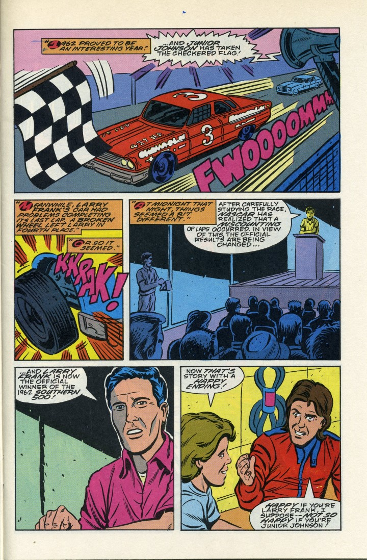 Photo of NASCAR; The Darlington Story, Comic Book Part 2