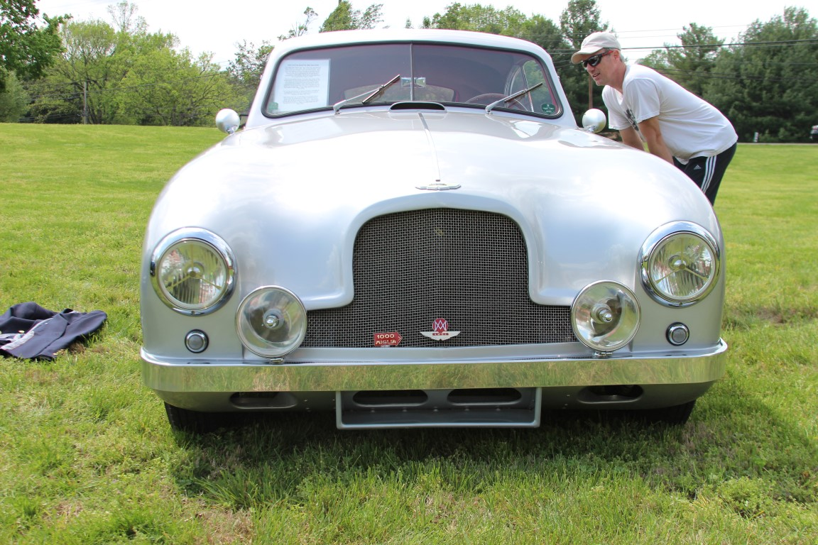 This 1952 Aston Martin DB2, one of 308 built, was delivered new to Mexico  in early 1952. After a short stint there, it was exported to the UK where  it was ...