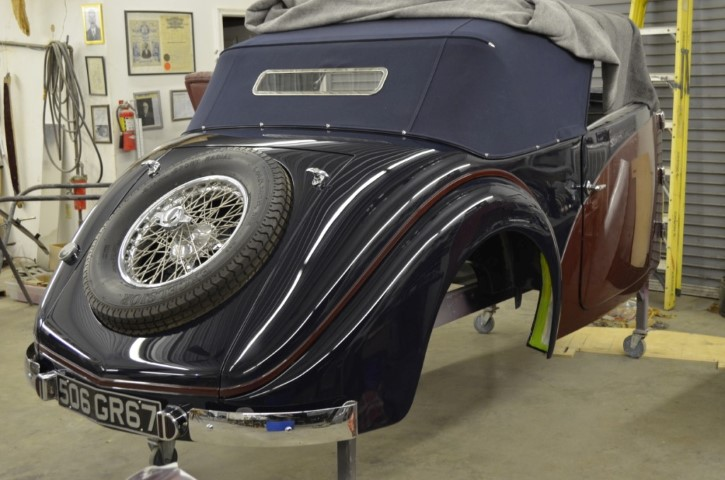 Photo of 1935 Bugatti T57 Cabriolet Build; Part 2