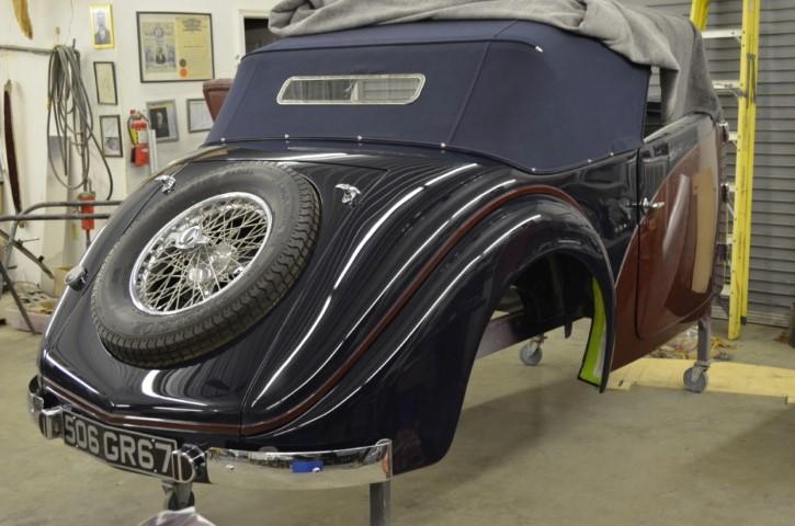 Photo of 1935 Bugatti T57 Cabriolet Build; Part 2