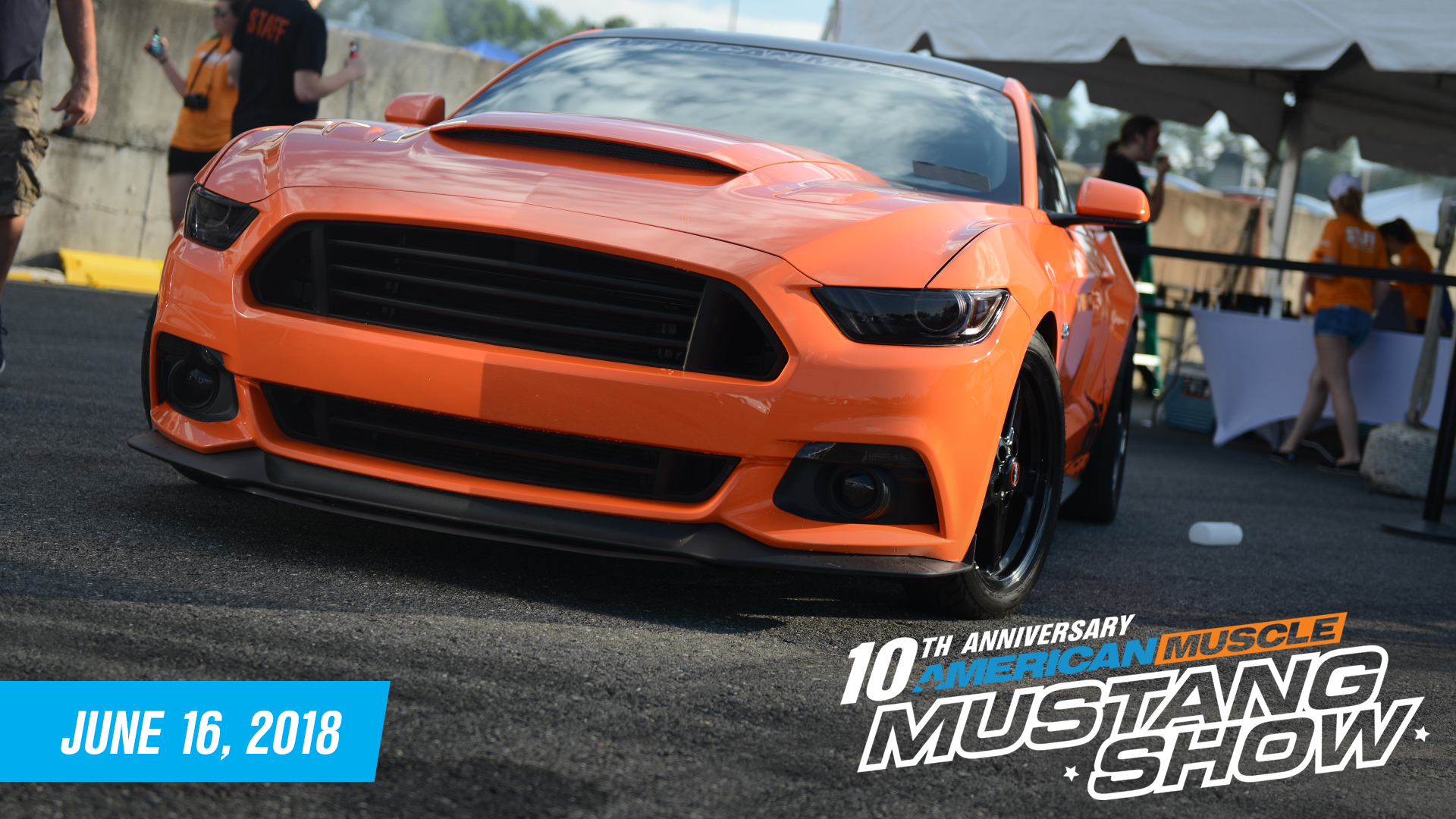 2018 Mustang Show American Muscle : Information on collecting cars ...