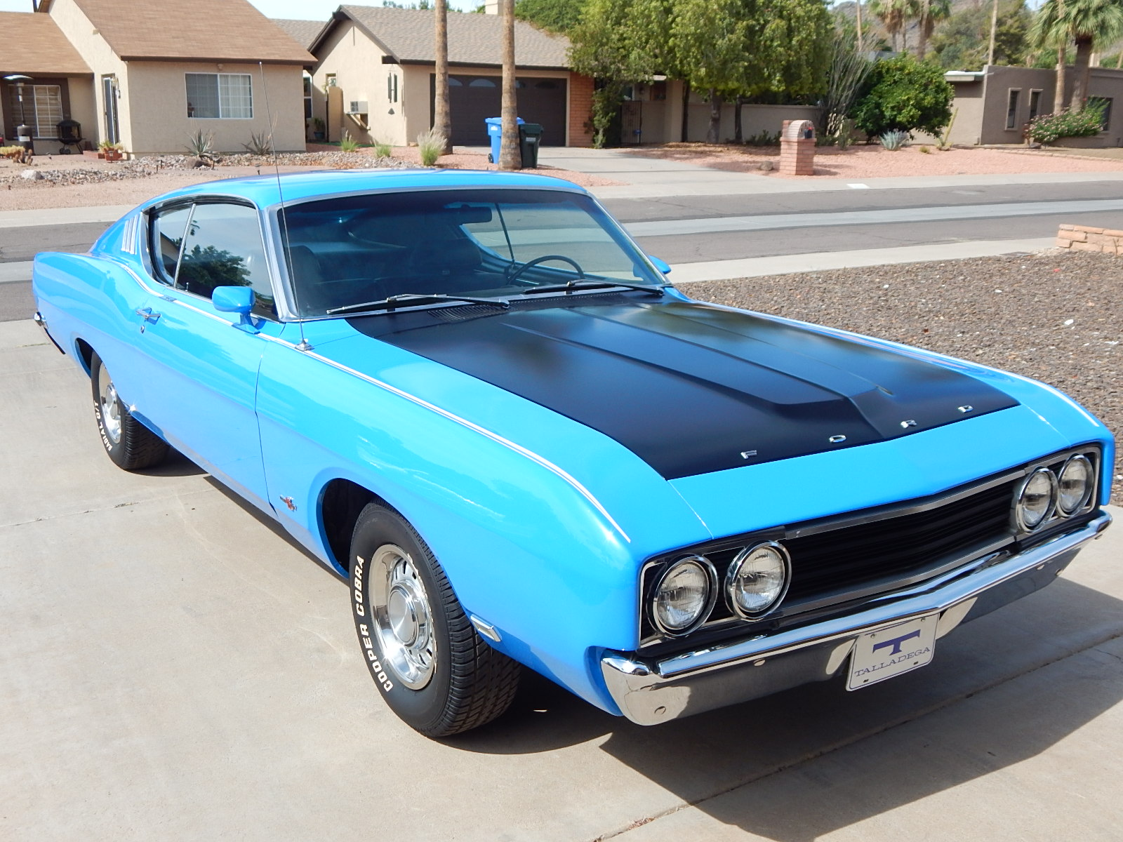 Photo of 1969 Ford Talladega For Sale Petty Blue!
