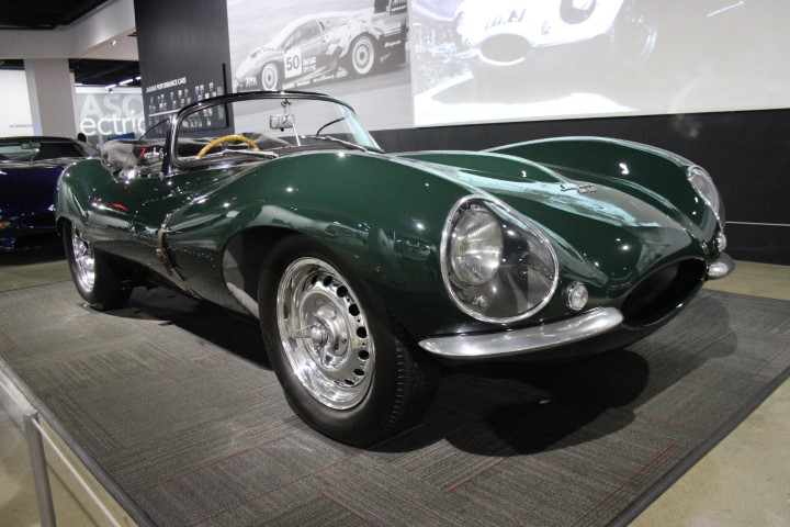 Photo of Steve McQueen 1956 Jaguar XKSS