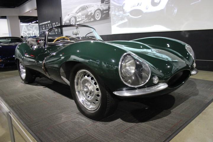 Photo of XKSS Jaguar owned by Steve McQueen (Type-D)