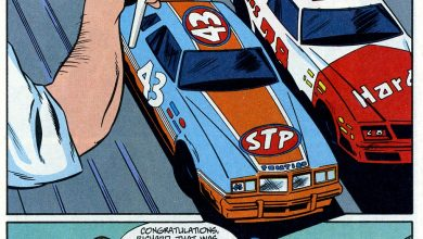 Photo of Richard Petty Comic; Part 2